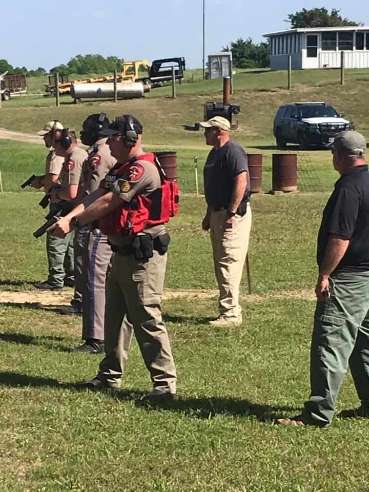 NCSO and the Texas Department of Public Safety conducted joint firearms qualifications at the NCSO range