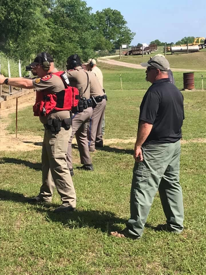 agencies participated over the two day event including CISD Police, Navarro College Police, Dawson Police, Navarro County District Attorneys Investigator, Rice ISD Police and Navarro County Constables