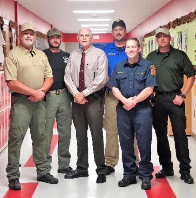Personnel involved in presenting the Active Shooter Class