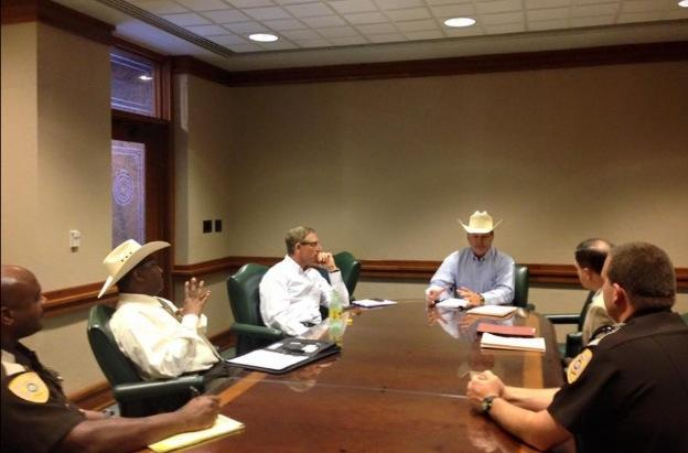 Meeting with Executive Director of Texas Jail Standards