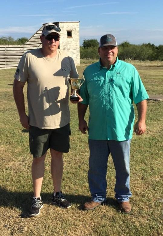Captain Stan Farmer and Sgt. Jeff Harbuck on winning the 2015 Habitat For Humanity Meat and Skeet
