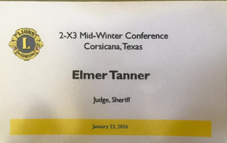 Mid-Winter Conference, Corsicana, Texas