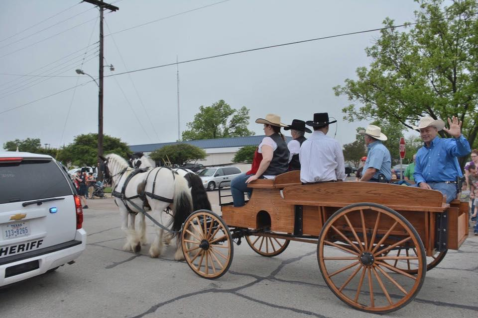 Horse and buggy participation in the 41st Annual