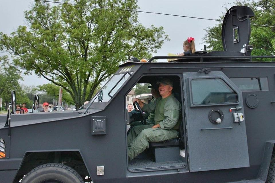 Navarro SWAT Vehicle participates in the 41st Annual