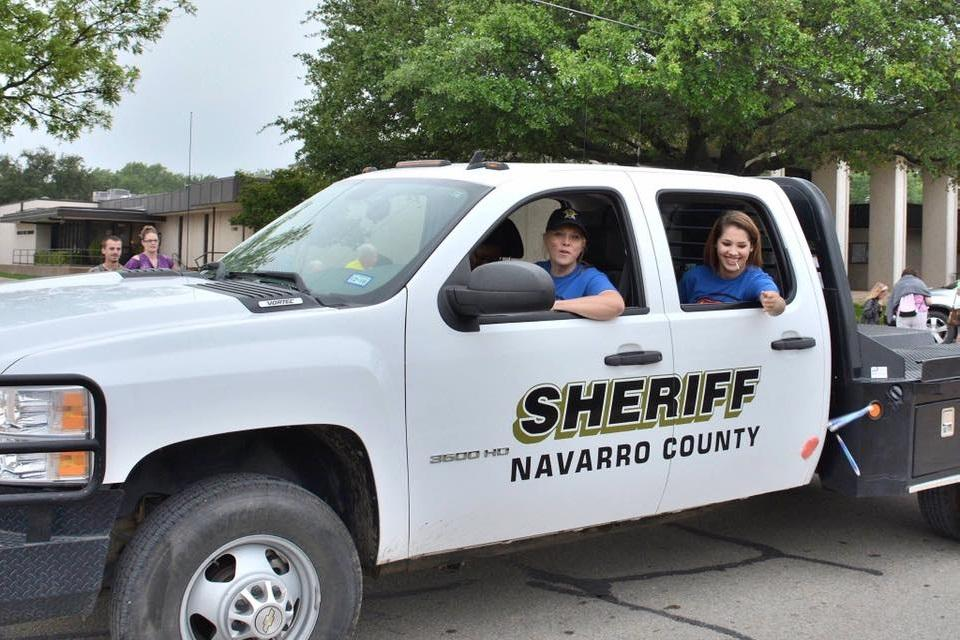Navarro Sheriffs Vehicle participates in the 41st Annual