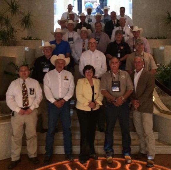 Photo of the Sheriffs in attendance at the 30th annual Texas Jail Conference in Austin