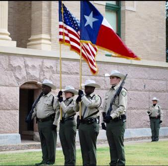 NCSO Honor and Color Guards who were extremely honored to take part in todays Navarro County Veterans Day celebration