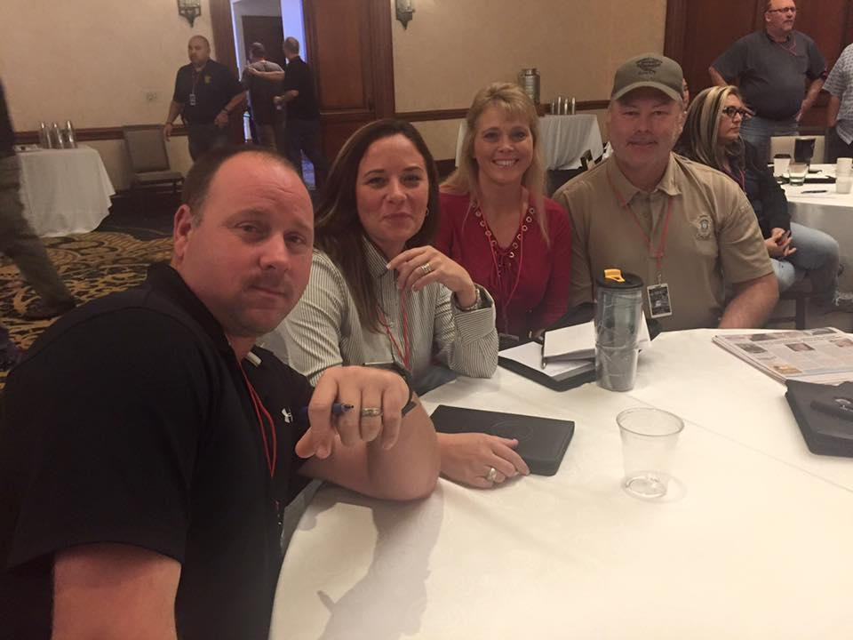 Sheriff Tanner and officers attend the Southwestern Crisis Negotiations Training Conference